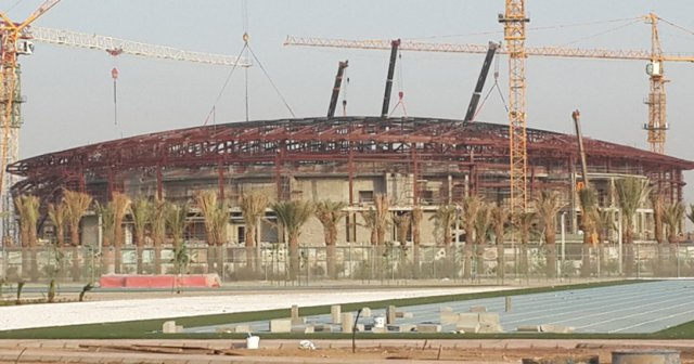 King Abdullah Sport City, Sport Hall, Jeddah – Saudi Arabia, 5,000MT, 2015 (Under Execution) - Our Projects